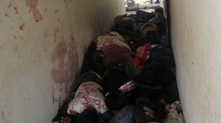 Charnier de civils massacrés à Duekoué.