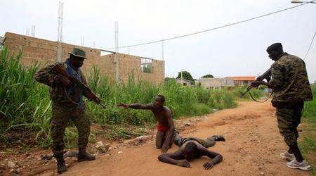 Exécution sommaire de civils par les FRCI.