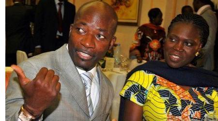 Charles Blé Goudé et Simone Ehivet Gbagbo.