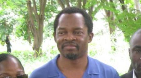Dr Blé Chrispohe, medécin particulier du Président Gbagbo.