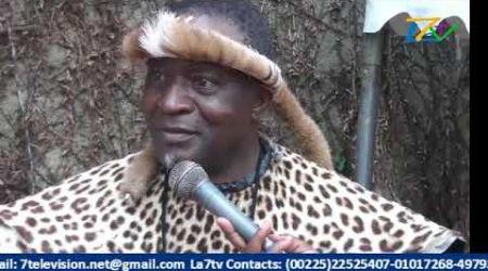 LA7TV Infos7 grève à école en Côte d'Ivoire la médiation des Rois et chef traditionnelle d'Afrique