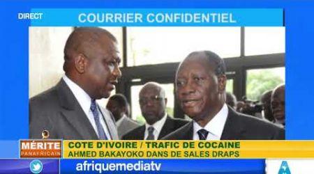 MERITE PANAFRICAIN DU 12 06 2020 / Trafic de cocaïne: Ahmed Bakayoko dans les sals draps