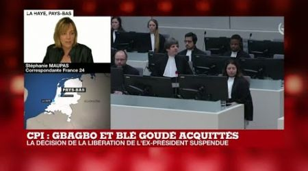 La libération de Laurent Gbagbo suspendue après un nouvel appel du procureur de la CPI