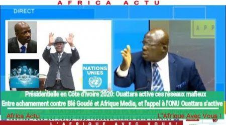 Pourquoi Ouattara s'attaque t-il à Blé Goudé et fait recourt à l'ONU?