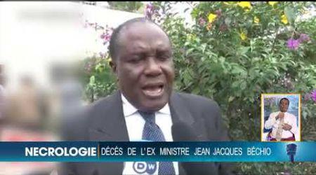 Nécrologie : Décès de l'ex-ministre Jean-Jacques Bechio