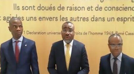 DEPOT DE PLAINTE DE LA FIDHOP A PARIS POUR PROPOS RACISTES CONTRE LES PROFESSEURS MIRA ET LOCHT