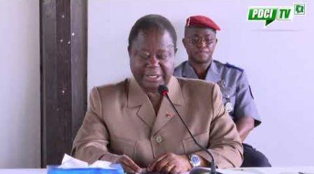 PDCI RDA : Message du Président Bédié aux pôpulations du N'zi et à la Côte d'Ivoire