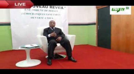 LE FAUTEUIL BLANC DU NOUVEAU RÉVEIL.Invité Dr Assoa Adou ( SG du FPI) ...