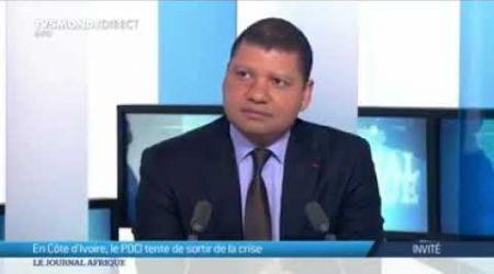 Jean louis billon sur tv5 monde à propos des législatives d'octobre 2018 en côte d'ivoire