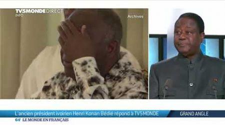 Côte d'Ivoire : l'ancien président Henri Konan Bédié répond à TV5MONDE