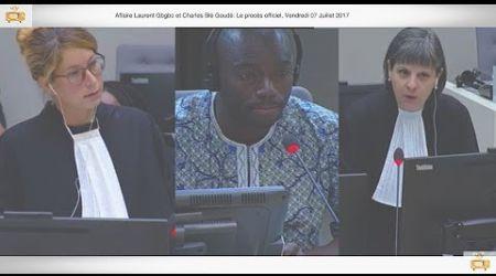 (1ÈRE PARTIE) PROCÈS: Gbagbo et Blé Goudé: 07 Juillet 2017, Ouattara Yacouba