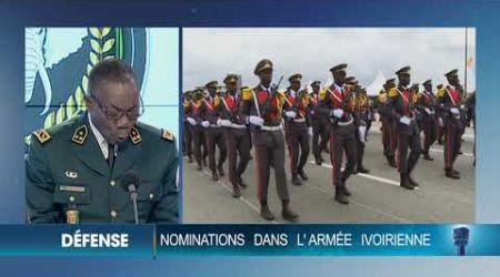 Politique : Les nouvelles nominations dans l'armée ivoirienne