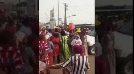 Côte D'Ivoire  Yopougon: manifestation de colère des femmes suite à une pénurie d'eau