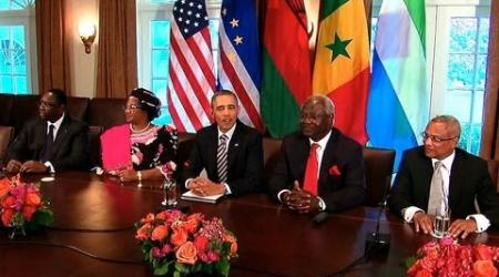 President Obama Welcomes African Leaders
