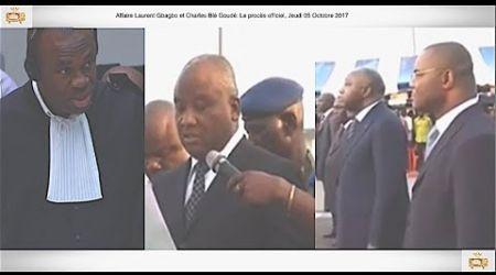 (1ÈRE PARTIE) PROCÈS: Gbagbo et Blé Goudé: 05 Octobre 2017, Général Philippe Mangou a la CPI