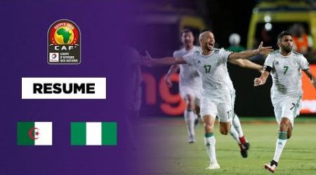 CAN 2019 - L'Algérie en finale dans le money time !