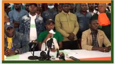 Candidature de Ouattara: Les jeunes de l'opposition  appellent à marcher  dans toutes les villes