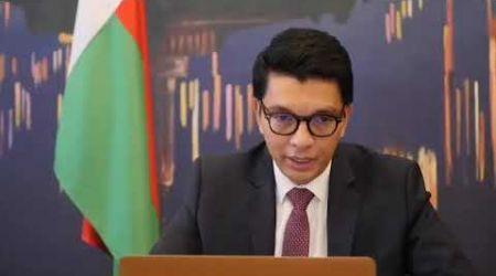 Covid-19 : Vidéoconférence entre le président Malgache et le directeur de l'OMS