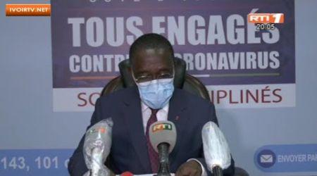 Côte d'Ivoire/ Coronavirus: Le point de la situation du 03 Mai 2020