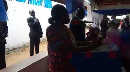DEUIL : HOMMAGE DU FPI À POL DOKOUI. L'intervention de madame  Simone  Gbagbo
