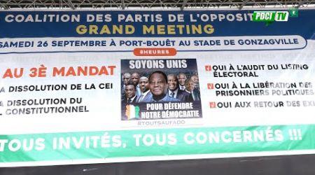 PDCI-RDA: Édition Spéciale / Meeting éclaté de l'opposition à port bouët / Gonzaqueville