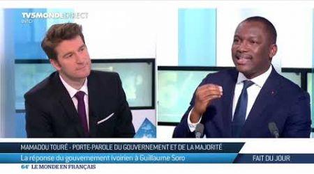 """Côte d'Ivoire : """"Guillaume Soro c'est la stratégie de l'enfumage"""", Mamadou Touré"""