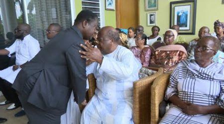 Flash du13 novembre 2019 :  Le Président Bédié présente ses condoléances à la famille Banny