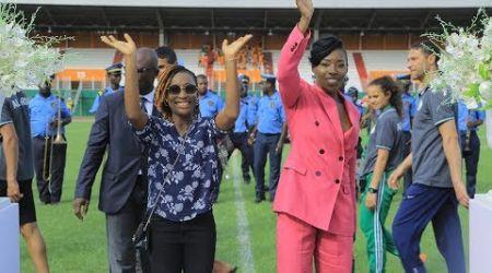 Lancement des jeux africains U18 et U20 d'athlétisme à Abidjan