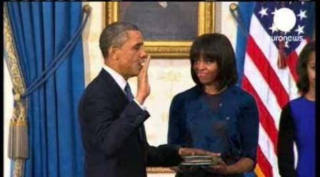 Obama investi lors d'une cérémonie-éclair