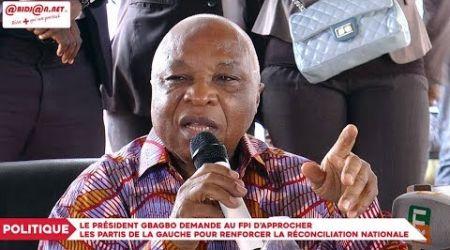 Gbagbo demande au FPI d'approcher les partis de la gauche pour renforcer la réconciliation