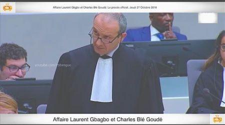 (3ème Partie) PROCÈS: Gbagbo et Blé Goudé: 27 Octobre 2016 Metch Métchro Harold Moise Fabrice