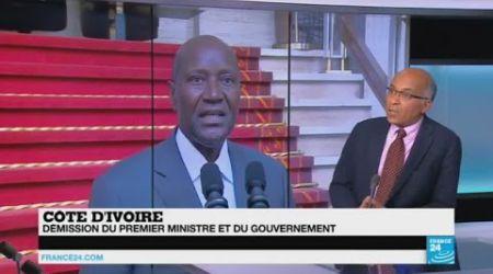 Côte d'Ivoire : démission du Premier ministre et du gouvernement