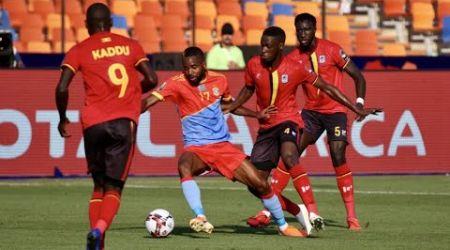 CAN-2019 : Surprise, la RDC chute d'entrée face à l'Ouganda (2-0)