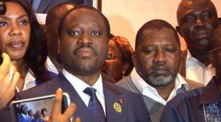 Guillaume Soro se déclare candidat à la Présidentielle en Côte d'Ivoire