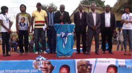 Caravane pour la pétition internationale de libération de Laurent Gbagbo.