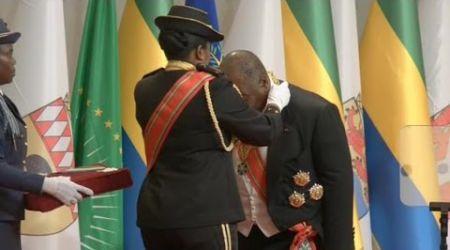 Gabon, Le président Ali Bongo Ondimba investi pour un nouveau mandat