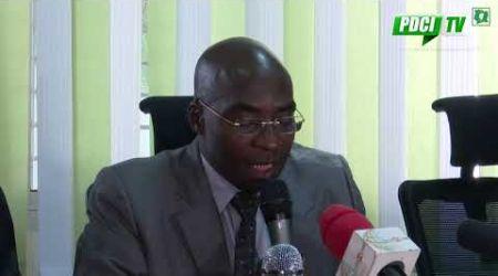 PDCI -RDA: CONFERENCE DE PRESSE DE L' OPPOSITION RELATIVE A LA REFORME DE LA CEI