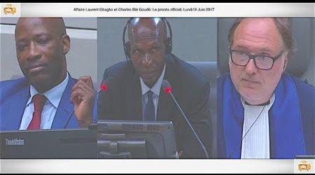 (1ÈRE PARTIE) PROCÈS: Gbagbo et Blé Goudé: 19 Juin 2017,