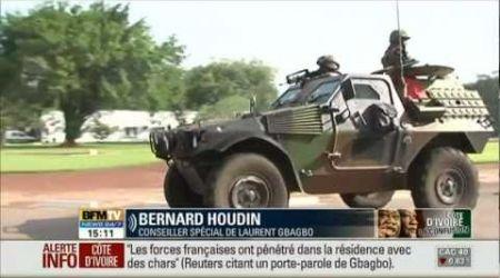 Laurent Gbagbo arrêté par les forces françaises - 11 avril 2011 - Côte d'Ivoire