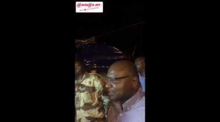 Arrivée à Abidjan du ministre Donwahi et du colonel Watao après Bouaké
