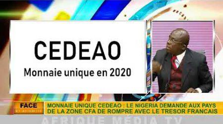 Pdt Banda Kani: SUR LA CDEAO FCFA ET SA MONNAIE UNIQUE 2020