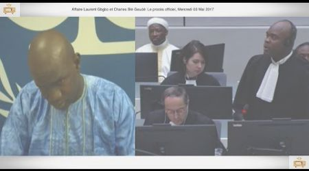 (1ÈRE PARTIE) PROCÈS: Gbagbo et Blé Goudé: 03 Mai 2017, Kandjourou Samoura