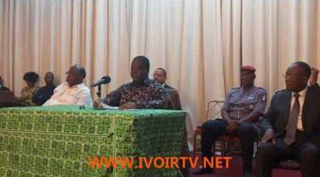 Le discours de BÉDIÉ devant les chefs BAOULE  qui  dénoue le pacte avec Ouattara
