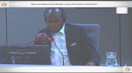 (1ÈRE PARTIE) PROCÈS: Gbagbo et Blé Goudé: 13 Septembre 2017, Adama Doumbia