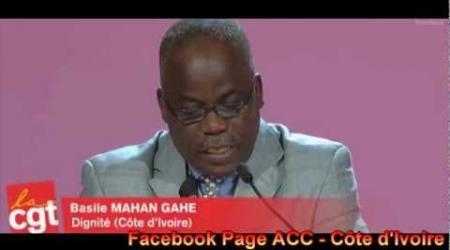 un syndicaliste ivoirien dénonce la persécution des travailleurs en Côte d'Ivoire.