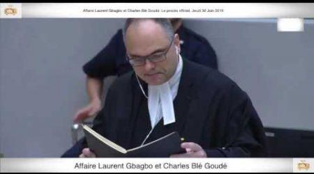 (1ère Partie) PROCÈS: Gbagbo et Blé Goudé: 30 Juin 2016
