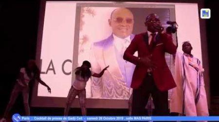 Côte d'Ivoire - Musique: Cocktail de presse de Gadji Celi Paris