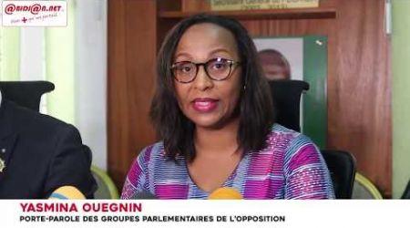 Les groupes parlementaires de l'opposition exigent la suspension des poursuites contre les députés