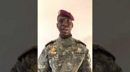Le Commandant Fofana parle au Président Alassane Ouattara et au ministre de la défense Bakayoko