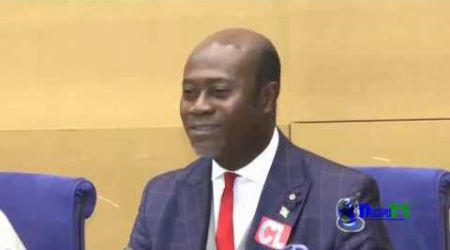 Le discours du Président Christian Vabé lors du centenaire des Tirailleurs Africains au Sénat França